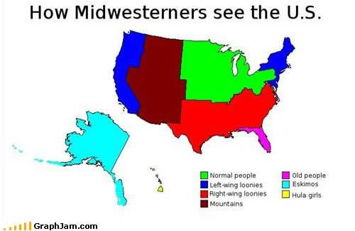 midwestern view of US